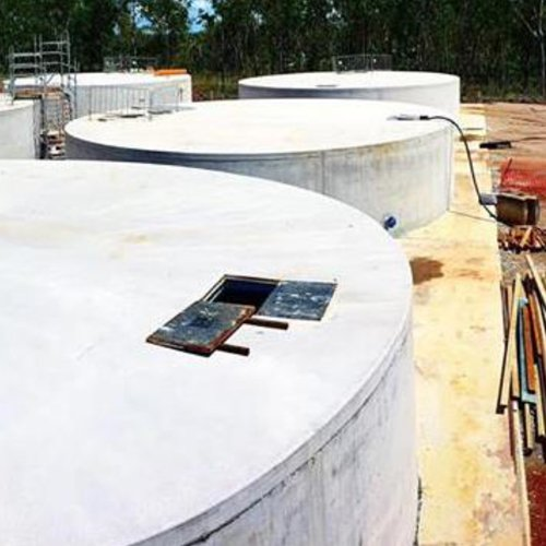 Bega Concrete Tanks - Darwin Hospital Commercial Concrete Tank
