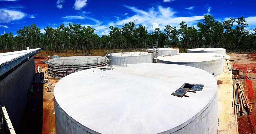 Commercial Concrete tanks