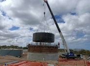 Port Lincoln Waste Water Treatment Plant (WWTP) South Australia