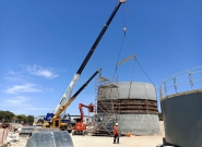 South Australia Port Lincoln Waste Water Treatment Plant (WWTP)